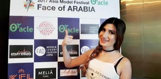 Pakistani Model 'Diya Ali' Wins Runner Up 2 At The Face of Arabia 2017