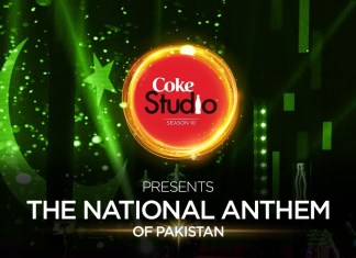 National Anthem of Pakistan from Coke Studio 10
