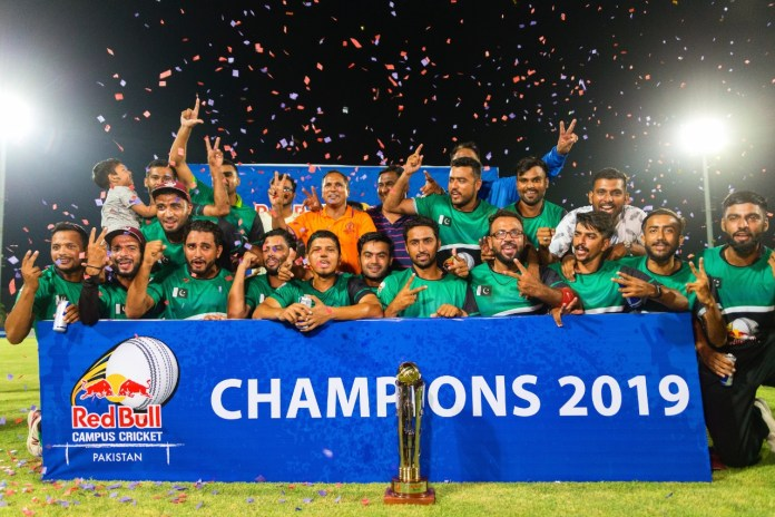 Karachi Knights prevail in cliffhanger final of Red Bull Campus Cricket