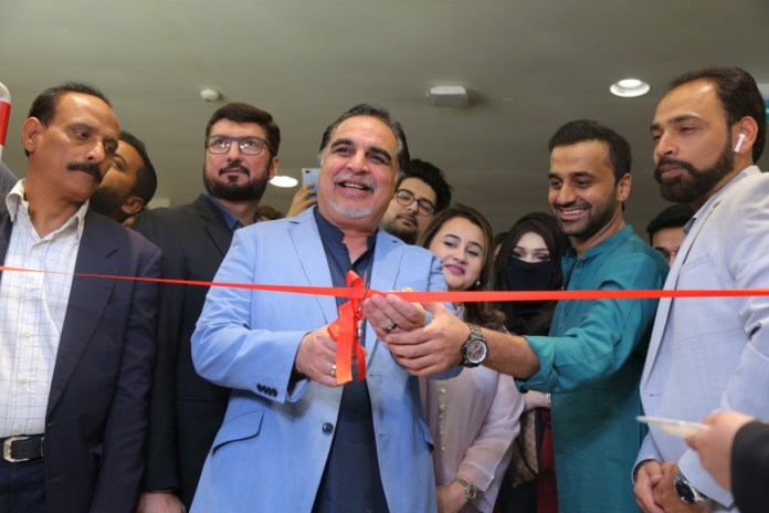 J. Launched outlet at Dolmen Mall Clifton, Karachi