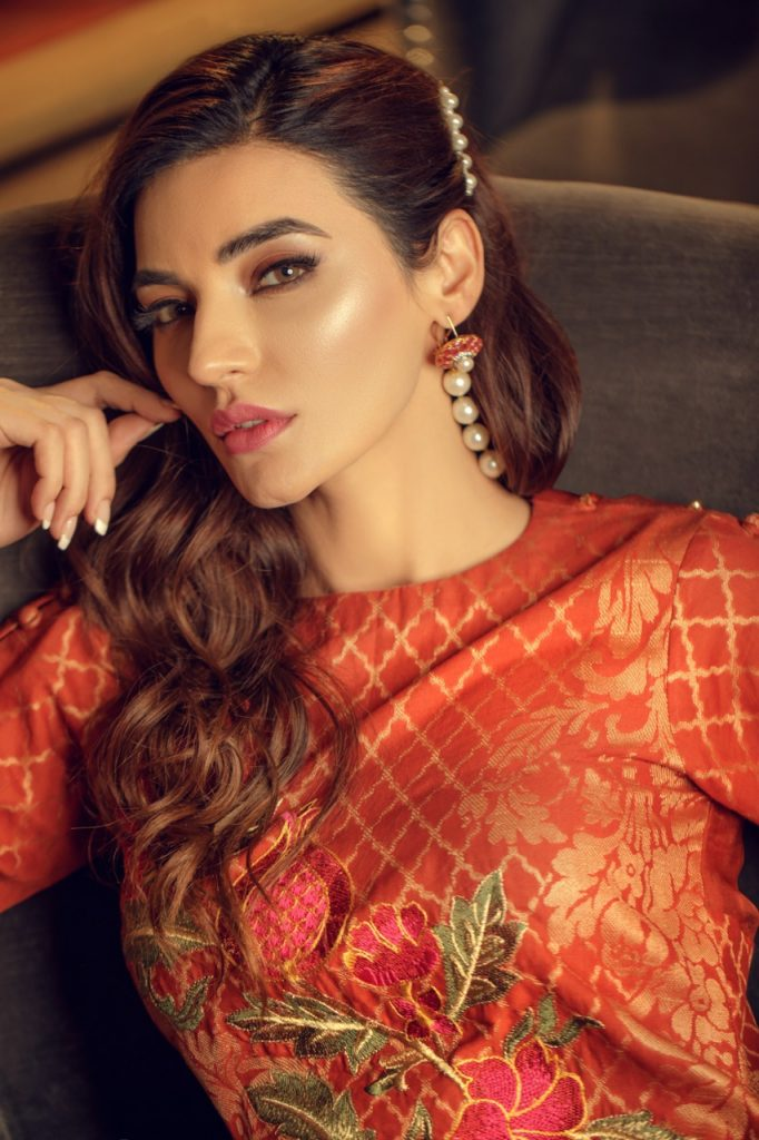 Iqra Reza Launches Exotique Unstiched Jacquard Collection
