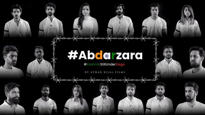 Ab Dar Zara portraying the dark image of Kashmir
