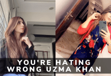NO, You're Hating a Wrong Uzma Khan