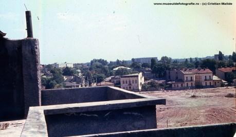 Imaginea surprinde demolarile din zona Cauzasi