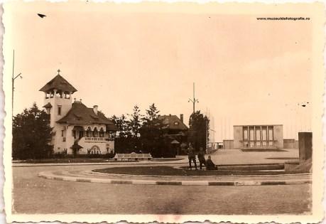 Soldati germani la Gara Baneasa