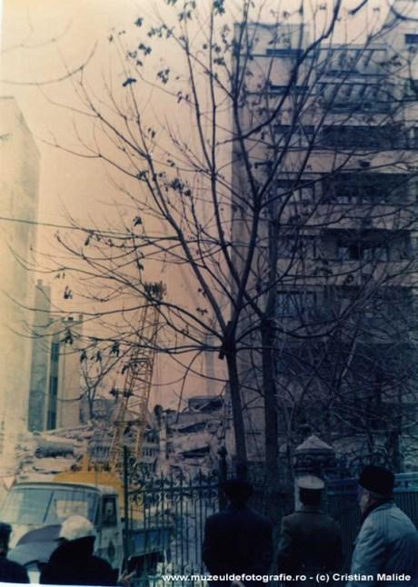 Cladire distrusa pe strada Maria Rosetti