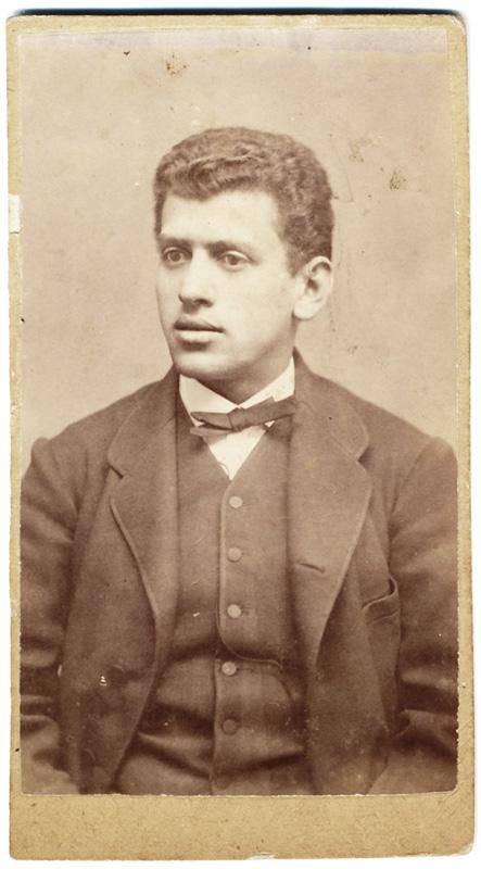 Fotogragie realizată in București im martie 1875 de catre un fotograf anonim.
