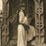 Oncești, Maramureș - poartă la casă țărănească