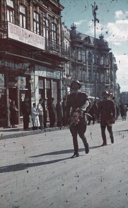 Romanian Soldiers, Constanta