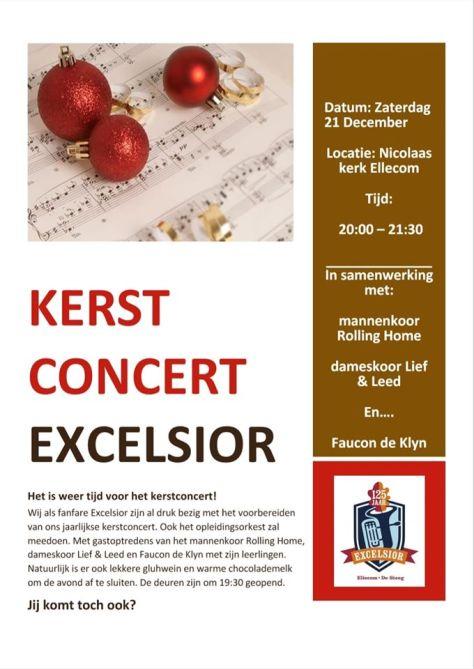 Kom naar het concert op 21 december