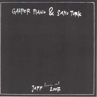 Gašper Piano & Samo Turk Live at Jeff