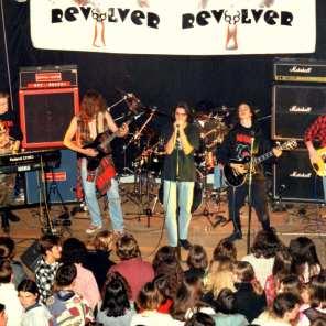 Revolver, Gimnazija Koper 1993 (foto: Revolver arhiv)