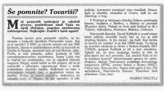 Članek s Primorskih Novic