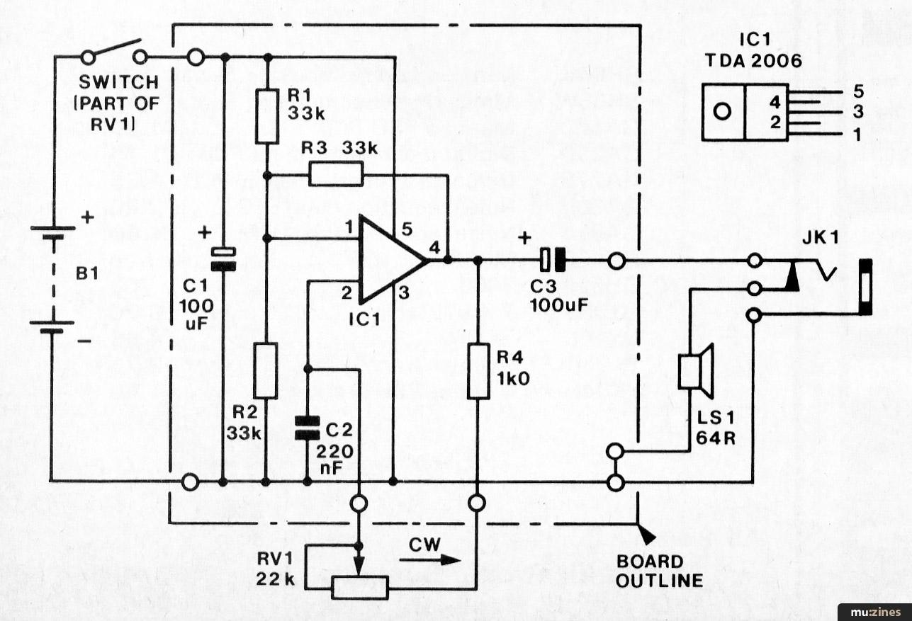 Vero Project 1: Tone Generator (EMM May 81)