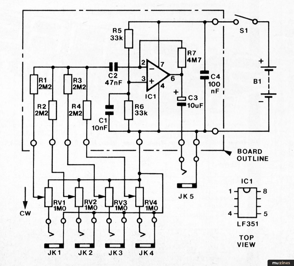 Vero Project 4 Signal Mixer Emm May 81