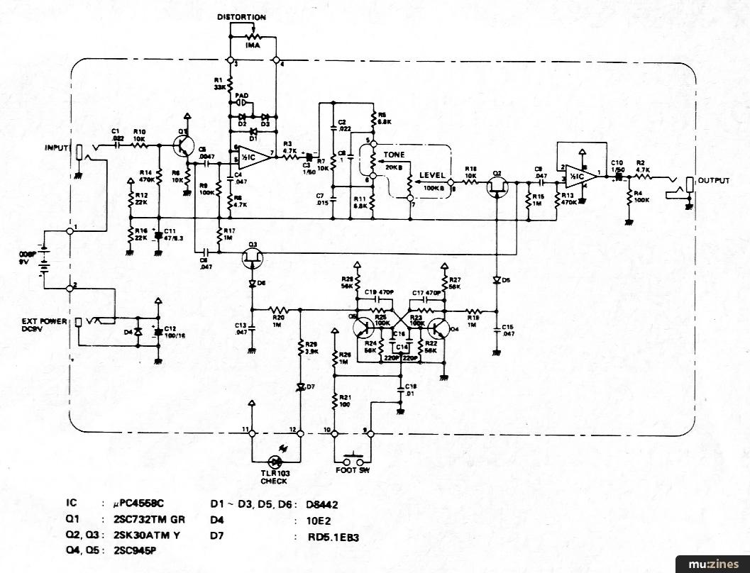 Amdek Distortion Kit (EMM Oct 82)