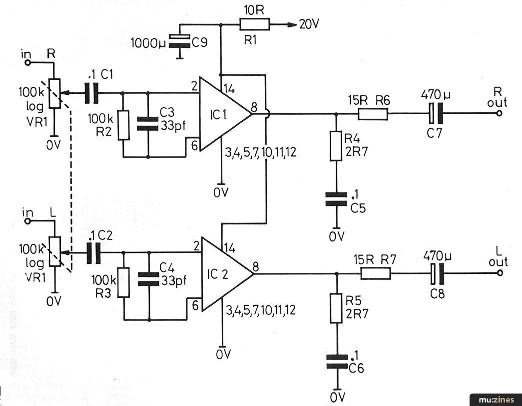 Headphone Amplification System Hsr Jul 84