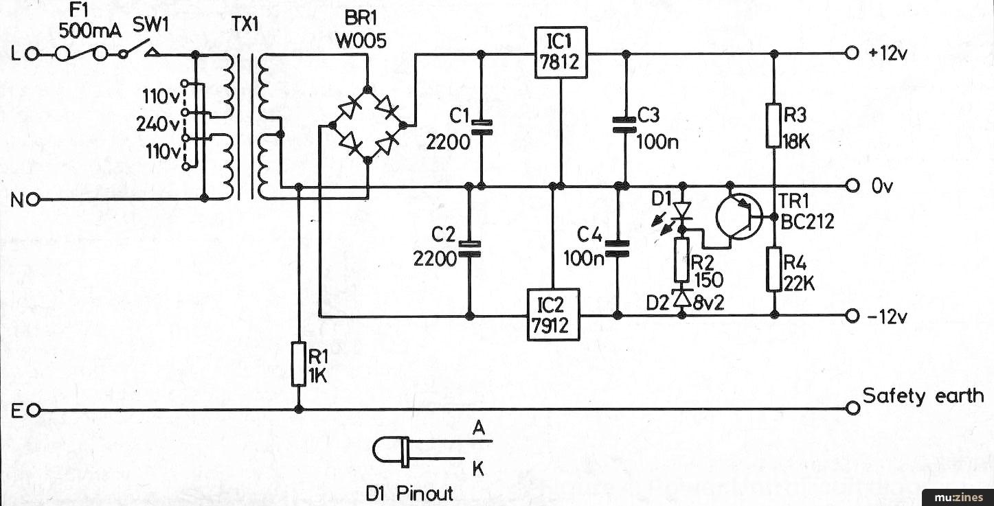 Modular Effects Rack Project (HSR Dec 84)