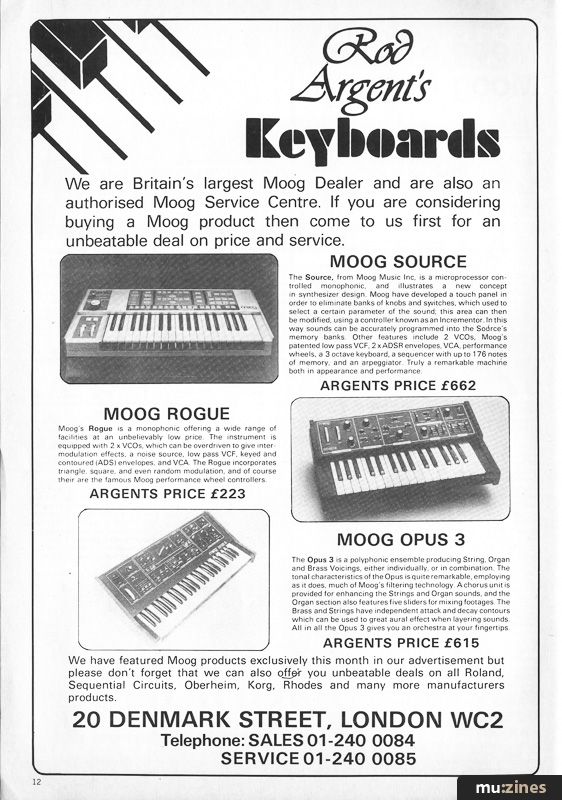 Electronics & Music Maker, May 1982 Contents