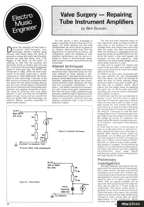 Electro-Music Engineer (EMM Aug 83)
