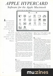 Apple HyperCard (MT Jan 88)