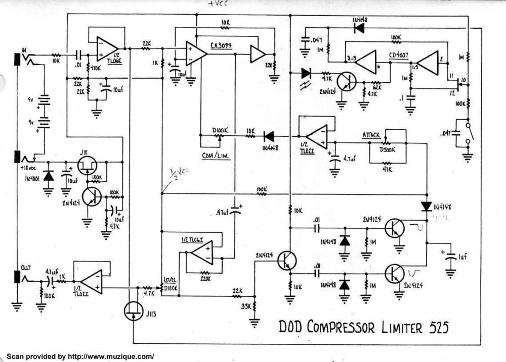 medium resolution of compressor limiter 525