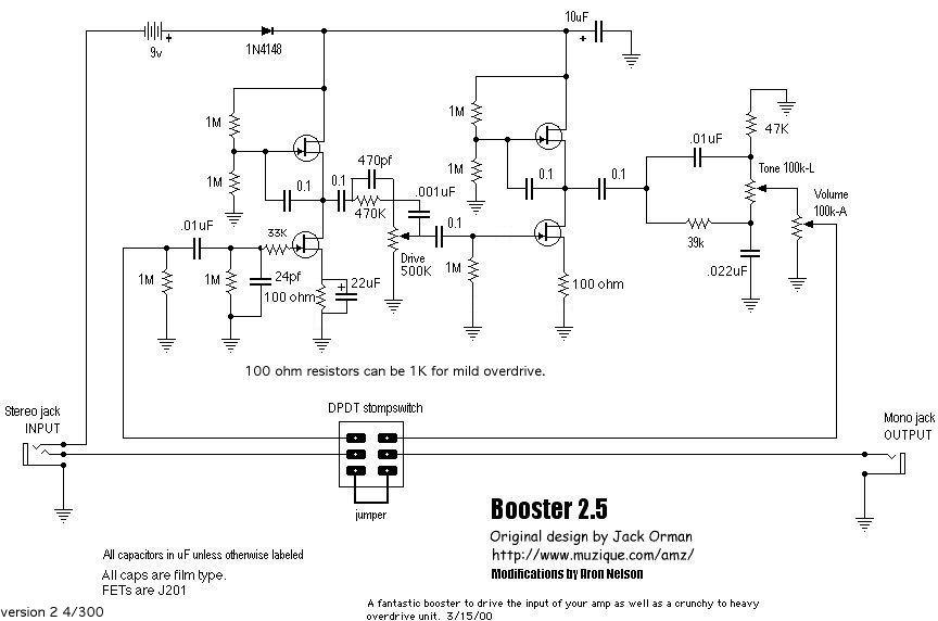 AMZ Tweed Stack PCB