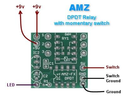 Amz Dpdt Relay Switch