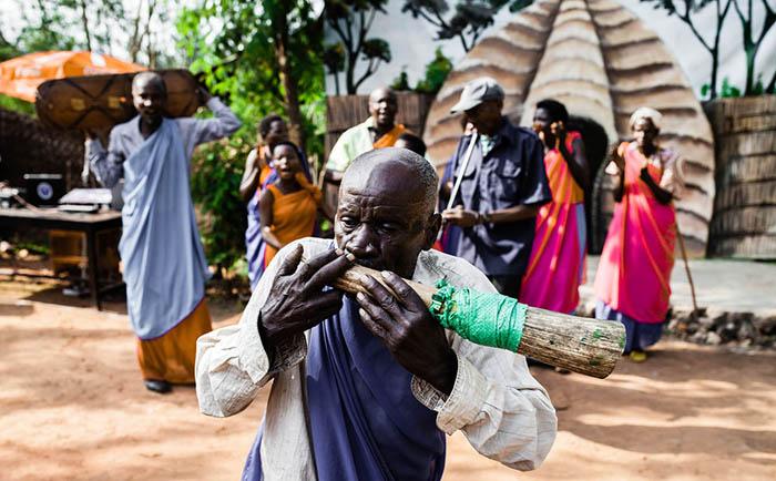 Traditional Dancers, Musanze. Red Rocks Rwanda