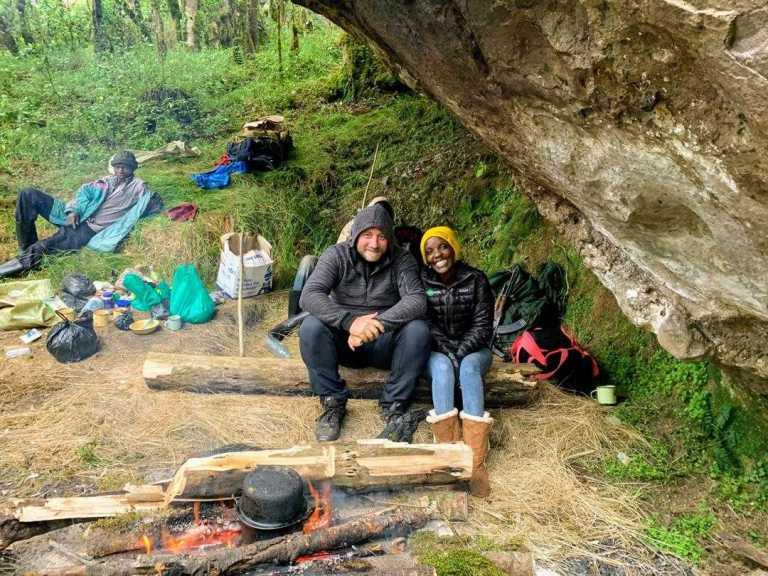 Jean Byamugisha. Mount Elgon hike Uganda