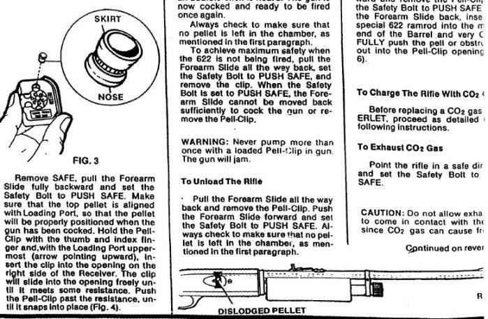 Crosman 622 Pell Clip Repeater