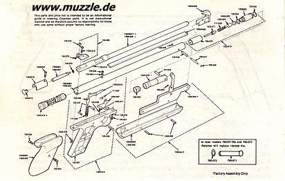 daisy air rifle parts diagram e46 m3 maf wiring all crosman 1077 1400 repair ~ elsavadorla
