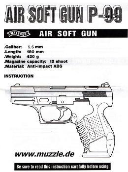 Walther P99 (UMAREX)