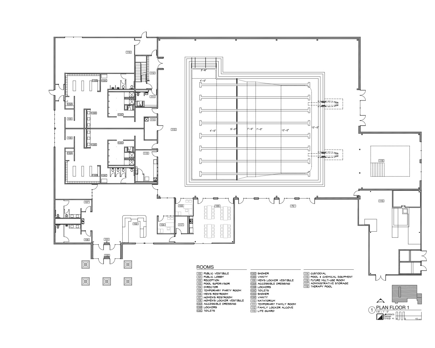 Facility Layout Mission Valley Aquatics