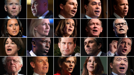 """""""There can only be one"""" - 2 dozen Democrat candidates prepare to hit the stage"""