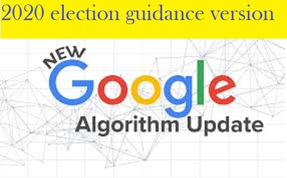 Google algorithm for altering election