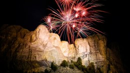 4th of July at Mt. Rushmore 2020
