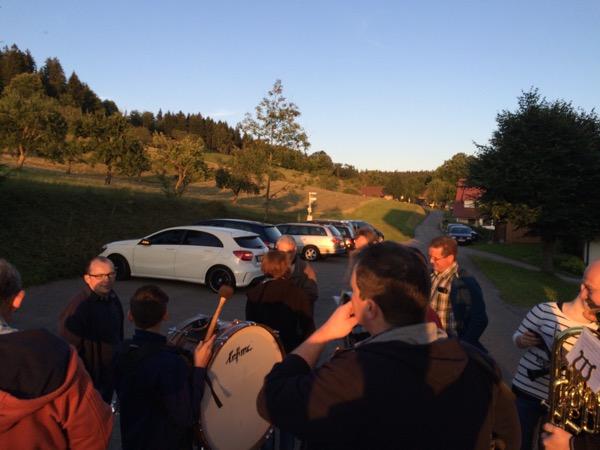 Marschprobe am Breitenberg
