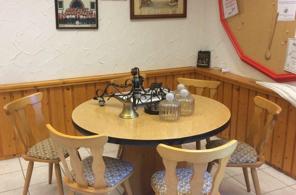 Stammtisch findet Platz im Probenlokal