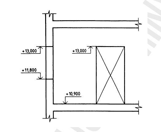 Dibujo t cnico acotaci n mvblogmvblog for Simbologia de niveles en planos arquitectonicos