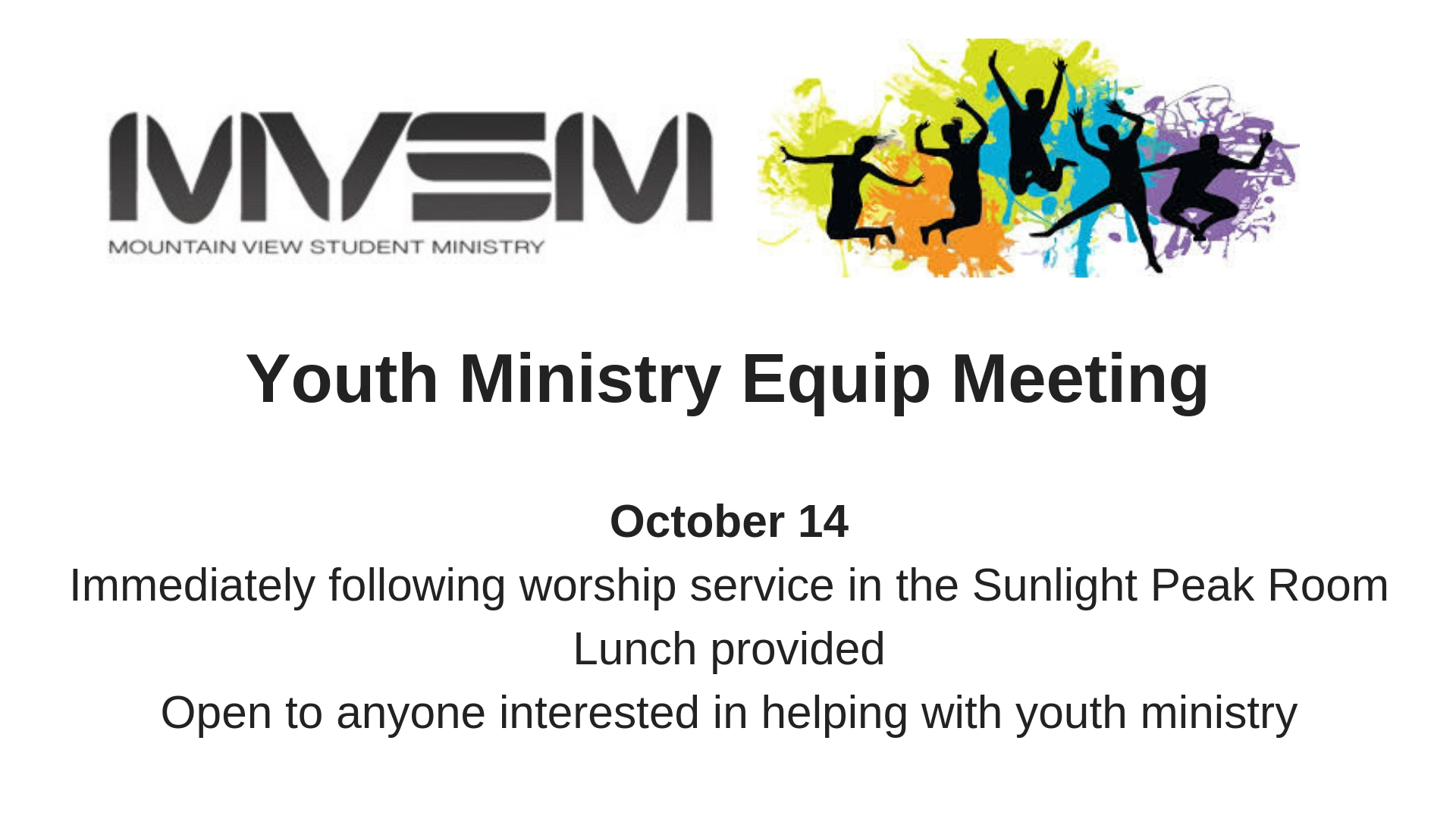 Youth Ministry Equip Meeting-2