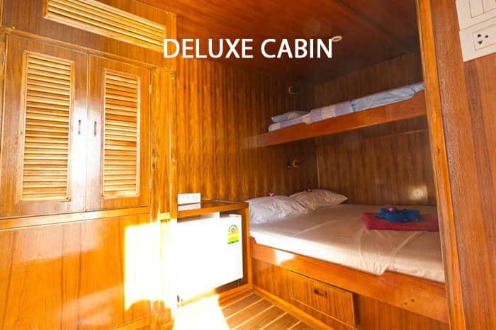 MV Giamani Deluxe Cabin - Comforatble Thailand Liveaboard