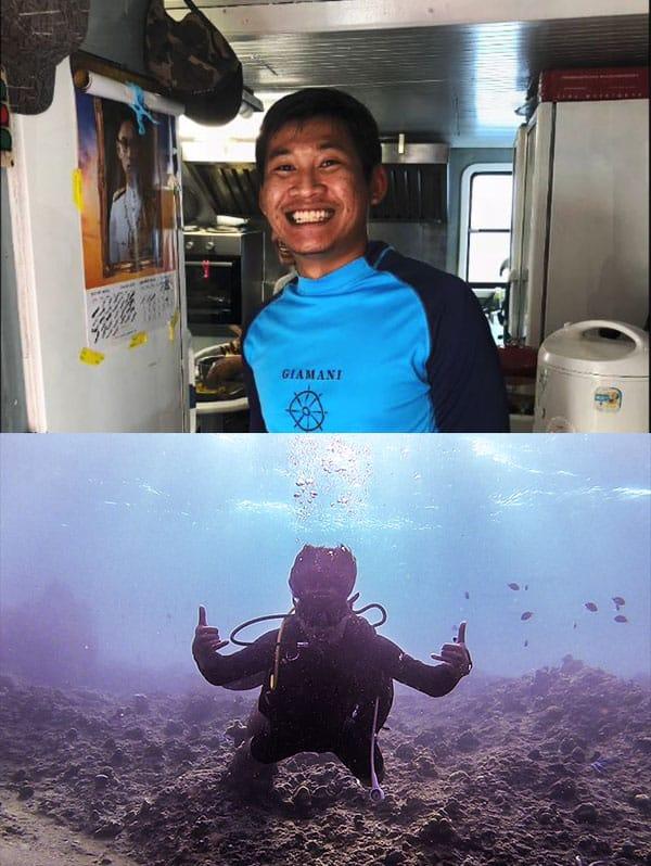 Francesco - Thailand Liveaboard Divemaster