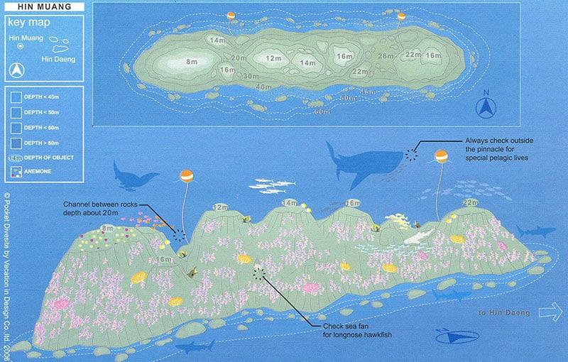 Thailand Liveaboard MV Giamani - Thailand Dive Sites - Hin Muang