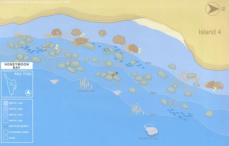 Thailand Liveaboard MV Giamani - Thailand Dive Sites - Honeymoon Bay