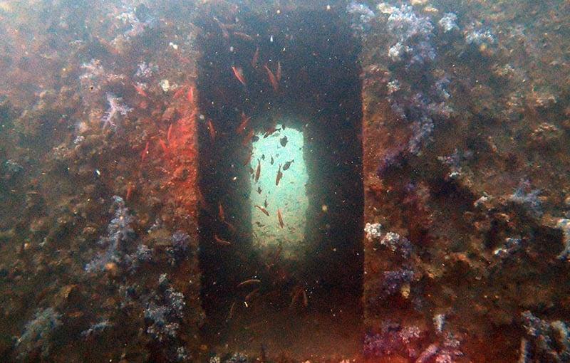 Thailand Wreck Diving MV Giamani