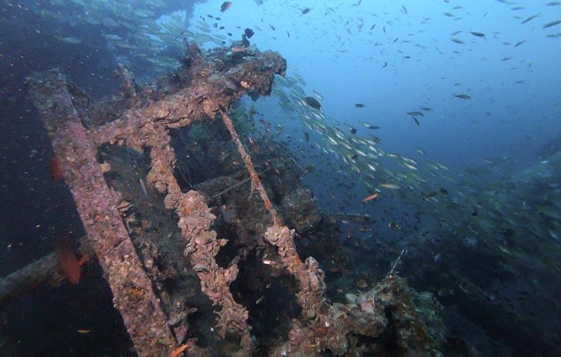 MV Sea Chart Wreck Diving Thailand Liveaboards