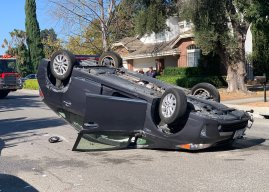MVHS alum crashes car on Bryant