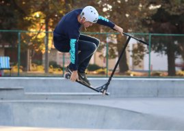 Scoot over, skateboarders