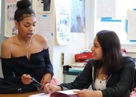 SDAIE and drawing students collaborate to create book of life experiences
